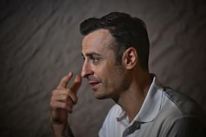 Former Manchester United player Dimitar Berbatov (above) believes that Leicester City's Harry Maguire, who has been linked with the Red Devils, could be the solution to the club's defensive woes.