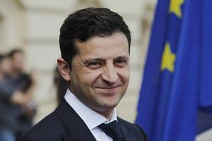 Volodymyr Zelensky's newly-created party is expected to win the largest share of the votes in the election.