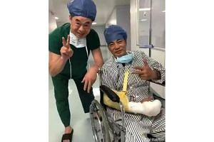 Hong Kong actor Simon Yam has undergone a second surgery after being attacked on July 20, 2019.