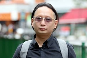 During the trial, Toh Zhiwei (above), who is represented by lawyer Peter Ong, testified that he had slowed down before the collision.