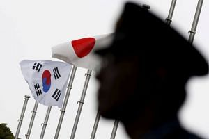 South Korea is protesting against Japan's plan to remove it from a list of countries that face minimum trade restrictions.
