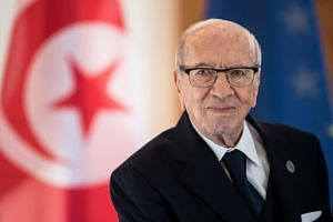 Tunisian President Beji Caid Essebsi had been hospitalised with a severe illness late last month and was returned to intensive care on July 25, 2019.