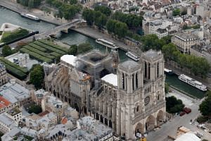 Environmental groups had warned that 300 tonnes of lead in the Notre-Dame cathedral's roof had gone up in flames during a devastating fire in April 2019, posing health risks to residents in the area.