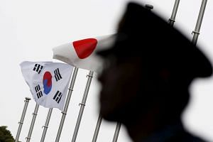The plan comes after Japan tightened curbs this month on exports to South Korea of high-tech materials used for making memory chips and display panels.
