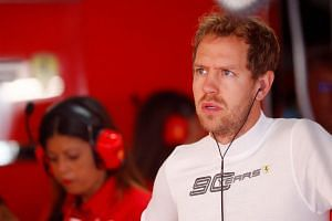 Ferrari driver Sebastian Vettel will start last at the German GP after his car suffered turbo-related problems during the qualifying round.