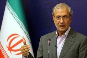 Iranian government spokesman Ali Rabiei said Iran believed the security of the oil-rich Gulf had to be maintained by countries in the region.