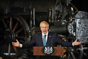 British Prime Minister Boris Johnson will visit a military base in Scotland as part of a tour of the United Kingdom to announce extra funding for local communities on July 29, 2019.