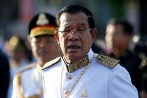 Cambodian Prime Minister Hun Sen said weapons being purchased included tens of thousands of guns to replace old stock and they were already being shipped.