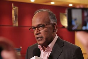 Law and Home Affairs Minister K. Shanmugam said the Ministry of Communications and Information has asked social media platform Facebook to take the video down, adding that he has asked the police to investigate the matter.