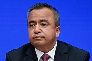Xinjiang vice-chairman Alken Tuniaz declined to give an estimate of the number of people detained in the camps.