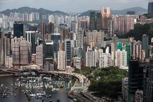 Hong Kong's residential sales volume tumbled 43.6 per cent in June from May to a four-month low.