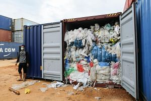 About 1,000 containers are now waiting for inspection at Indonesia's ports; with about 600 of them at the Batam port alone, according to Indonesia Industrial Plastic Export-Import Association.