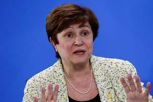 Georgieva (above) was chosen after more than 12 hours of talks and votes amid divisions within the 28-nation bloc.