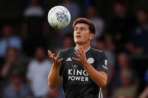Harry Maguire is expected to make an immediate impact on United's backline, which leaked 54 goals in the Premier League. PHOTO: REUTERS