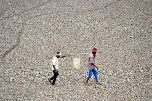 India's northern areas were lashed by monsoon rains and fatal floods in recent weeks but dry spells have gripped other parts, including the city of Chennai which plunged into crisis in June when its four main water reservoirs ran dry.