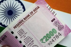 Traders also said that there was likely dollar selling by state-run banks to stem the rupee's losses.