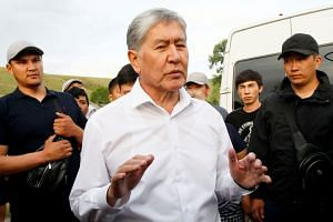 Former president Almazbek Atambayev saw his immunity lifted by parliament in June as the authorities seek to prosecute him on corruption charges.
