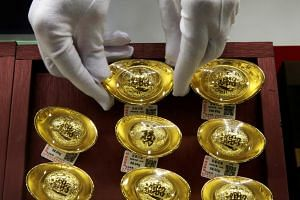 Gold rose as much as 1.1 per cent to US$1,500.40 an ounce on the Comex, the highest level since 2013.