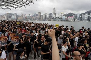 Two months of demonstrations have erupted in Hong Kong in opposition to a bill allowing extraditions to China.