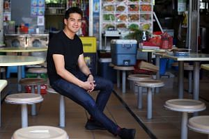 Why open a restaurant and deal with rental and operating costs when you can create dishes in a behind-the-scenes kitchen, sell them on online platforms and get them delivered? That was the idea behind Grain, which was founded by Mr Yong Yi Sung (abov
