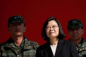 Taiwan President Tsai Ing-wen has said Taiwan was also stepping-up training as it prepared to transition to an all-volunteer force and has raised the defense budget for three consecutive years.
