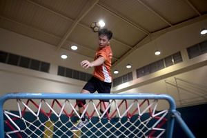 Amos Chan, 15, will be part of Singapore's U-18 boys team at the World Youth Tchoukball Championships commencing on August 16, 2019.