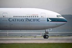 A Cathay Pacific Airways representative declined to comment, referring to an Aug 12 message to employees where the carrier said it is obliged to comply with regulations from the nation's aviation authorities.