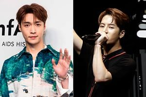 Lay Zhang (left) and Jackson Wang are among at least eight K-pop stars from China who are publicly stating their support for Beijing's one-China policy.