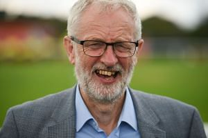 Britain's opposition leader Jeremy Corbyn this month urged lawmakers opposed to a no-deal Brexit to let him head a caretaker government.