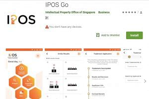 The Ipos Go app will make it faster to apply for a trademark, Ipos said on Wednesday (Aug 21).