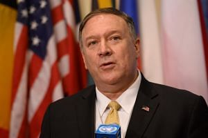 US Secretary of State Mike Pompeo said the US State Department had put a clock on its website that was counting down to the removal of a UN arms embargo on Iran and travel ban of an Iranian military commander.