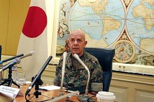General David Berger is concerned about deteriorating ties between Japan and South Korea, amid threats from North Korea and China.