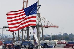 Containers at the Port of Los Angeles in San Pedro, California, on June 18, 2019.