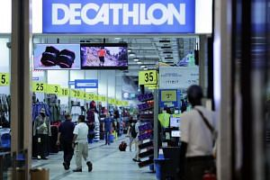 The new Decathlon outlet, which is due to open in the first half of next year, will be the French retail giant's first store in the Orchard Road shopping district.
