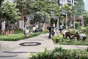 The new Punggol Point Crown housing precinct will have an animal-themed heritage walk dotted with signboards displaying interesting facts about Ponggol Zoo's history, animals and significant visitors.