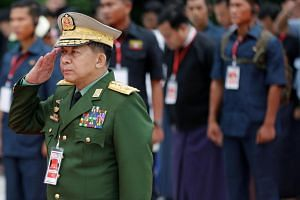 "On Aug 31, the website of commander-in-chief Min Aung Hlaing said a military court that visited the northern state found soldiers had shown ""weakness in following instructions in some incidents"" at a village believed to have been a Rohingya massacre"