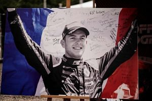 French driver Anthoine Hubert was killed on Aug 31 in Spa in an accident during a Formula Two race.