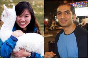 The two Singaporeans are Ms Tan Wei, 26, a postgraduate student from UC Berkeley, and researcher Sunil Singh Sandhu, 46.