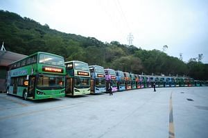 Shenzhen said last year that its entire bus fleet of more than 16,000 buses had gone electric - the biggest such fleet in the world.