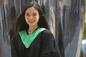 Ms Nicole Choo Jen Quinn, who received a diploma certificate in fine art, was part of the first cohort in Nafa's Talent Development Programme.