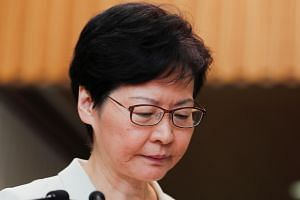 Many protesters remain angry over Hong Kong leader Carrie Lam's refusal to grant an independent inquiry into perceived police brutality.