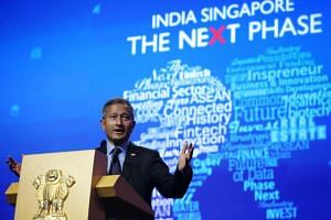 """Foreign Minister Vivian Balakrishnan called the Regional Comprehensive Economic Partnership a """"game changer"""" that had the potential to secure the prosperity of its members in the face of a pushback against trade and globalisation."""