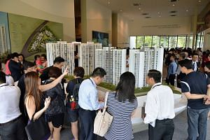 The higher unit prices from projects released by developers reflect the high land prices paid for en bloc sites they acquired, the increase in average unit size as well as a greater preference for larger apartments, said the report by Edmund Tie.