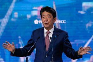 Japanese Prime Minister Shinzo Abe's third consecutive term as Liberal Democratic Party president ends in September 2021.