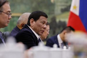 "Philippine President Rodrigo Duterte did not say if he had agreed to the offer, but said the part of the arbitral award that referred to the Exclusive Economic Zone ""we will ignore to come up with an economic activity""."