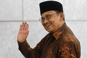 Former Indonesian President BJ Habibie died, aged 83 on Sept 11, 2019.