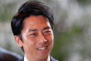 New Environment Minister Shinjiro Koizumi is rated by voters as the lawmaker they would most like to see as prime minister.