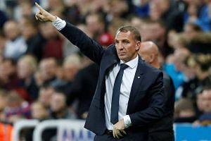 Leicester have not won a league game at Old Trafford in 21 years and manager Brendan Rodgers said he was hoping for a strong performance from his side.
