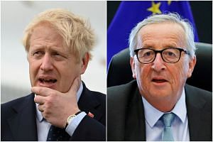 British Prime Minister Boris Johnson will meet European Commission President Jean-Claude Juncker on Sept 16, 2019.