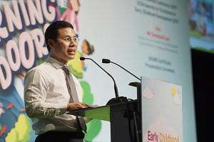 Minister for Social and Family Development Desmond Lee announced an initiative where companies and individuals can partner the Government to help children in the KidStart programme.